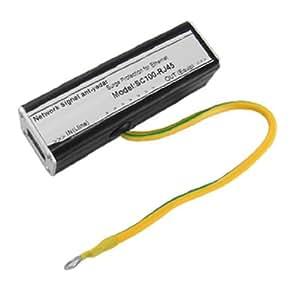 Ethernet LAN RJ-45 RJ45 Surge Protector Lightning Arrester 155Mbps