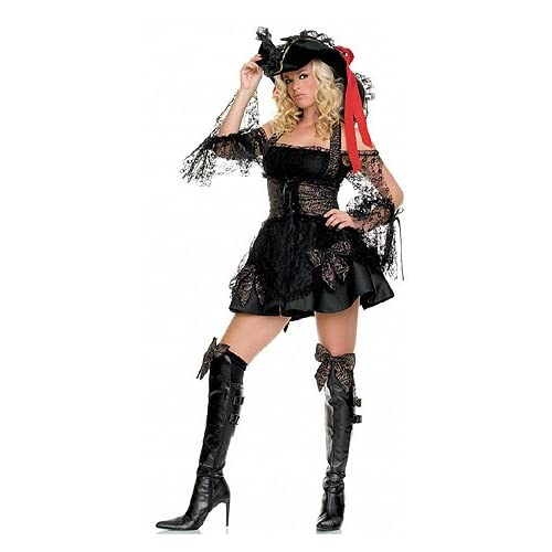 Abba Costumes: Sexy Legs and Ass Girls in Luxurious Pirate - Women's Sexy Pirate Costumes / Lingerie Outfit
