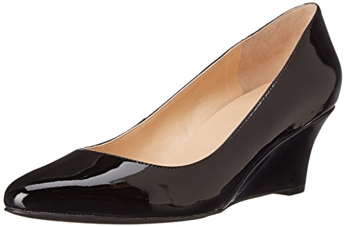 Cole Haan Women's Catalina Wedge Pump, Black Patent, 9 B US (Cole Haan Shoes Women Wedge compare prices)