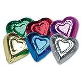Rainbow Milk Chocolate Hearts