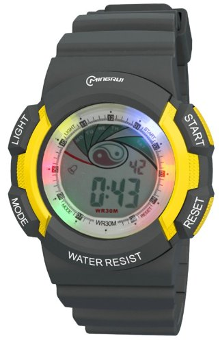 30M Water-Proof Digital Boys Girls Sport Watch With Alarm Stopwatch Chronograph Mr-8539067-6