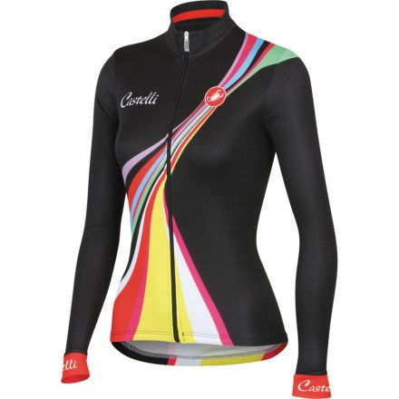 Buy Low Price Castelli Viva Long Sleeve Women's Jersey (B0093QB682)