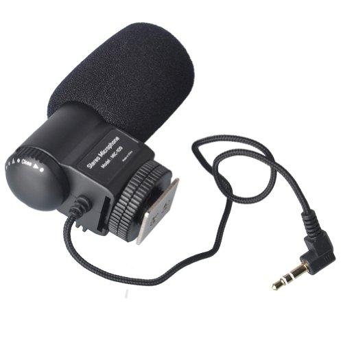 Mic-109 Stereo Microphone For Nikon D7100 D5100 D3200 D7000 D800 D300S D3S D90
