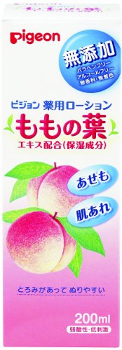 Pigeon Medicated Lotion (Leaves Of Peach) 200Ml (Quasi-Drug) (0 Months To) (Japan) front-887125