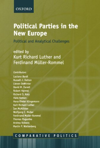 Political Parties in the New Europe: Political and Analytical Challenges (Comparative Politics)