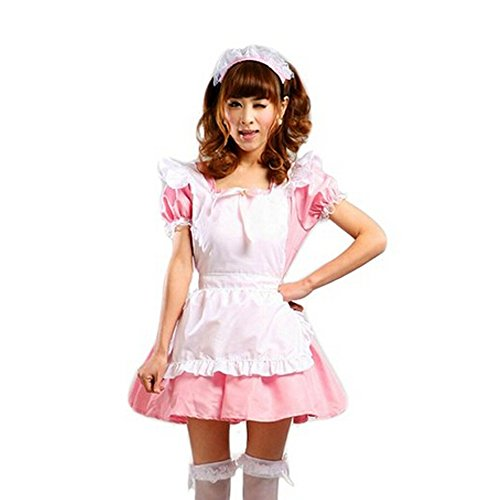 TAILUN Classic maid outfit (pink) costume / cosplay / costume / maid Dress