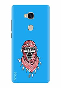Noise Designer Phone Case / Cover for Huawei Honor 5X / Patterns & Ethnic / Afghani Skull - Multicolor