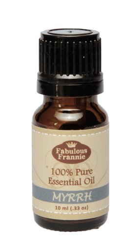 Myrrh 100% Pure, Undiluted Essential Oil Therapeutic Grade - 10 ml. Great for Aromatherapy!