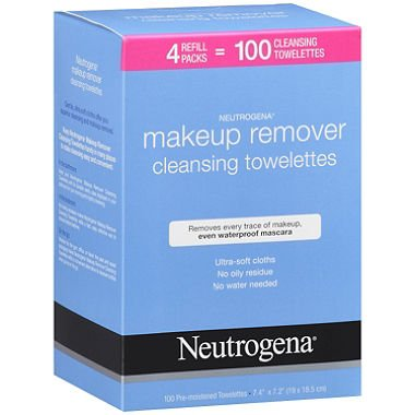 Makeup Remover Cleansing Towelettes front-1043857