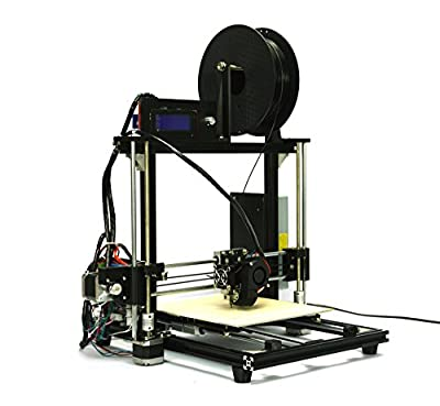 HICTOP Desktop 3D Printer [New Version] DIY 3D Printer Kits,All Metal Frame High Accuracy CNC Self-assembly, Aluminum Frame Structure, Acrylic Build Platform, Tridimensional 270*200*190cm Printing Size, Works with PLA+ABS [SOLD ONLY BY HIC Technology](Bla