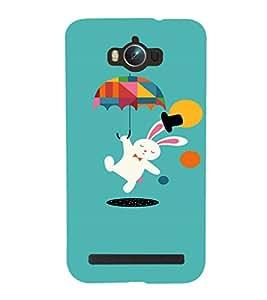 EPICCASE Jumping Rabbit Mobile Back Case Cover For Asus Zenfone Max (Designer Case)