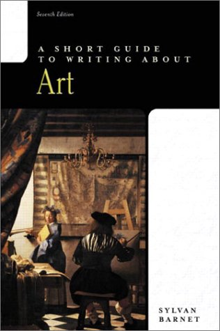 Image for A Short Guide to Writing about Art (7th Edition)