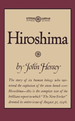 hiroshima book report Free summary of hiroshima by john hersey: free study guide / online book summary / chapter notes / analysis / synopsis / plot notes.
