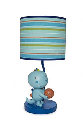 Kids Line Lamp Base And Shade, Dino Sports back-1050583