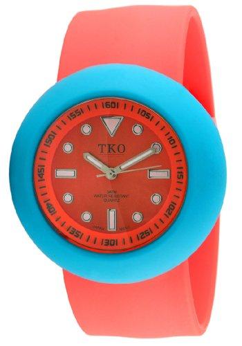 TKO ORLOGI Women's TK597-ONO Neon Slapper 3 Part Interchangeable Slap Watch