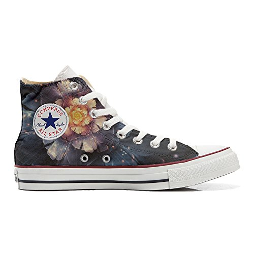 Converse All Star Chaussures Coutume (produit artisanal) Infinity fleurs
