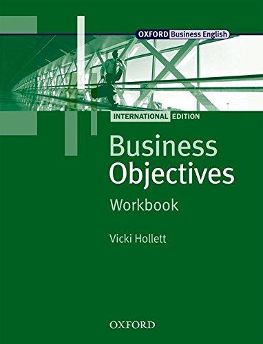 Business Objectives International Edition: Business Objectives: Workbook International Edition