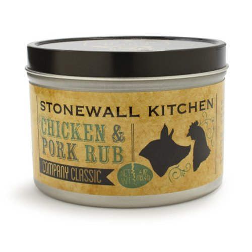 Stonewall Kitchen Chicken And Pork Spice Rub 4 Ounce 711381315293