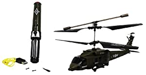 Velocity Toys Pheoni Military Combat Electric RC Helicopter GYRO 3.5CH RTF w/ Motion Detector at Sears.com