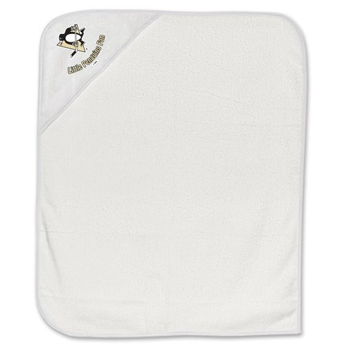 Pittsburgh Penguins Hockey Infant Baby Hooded Bath Towel