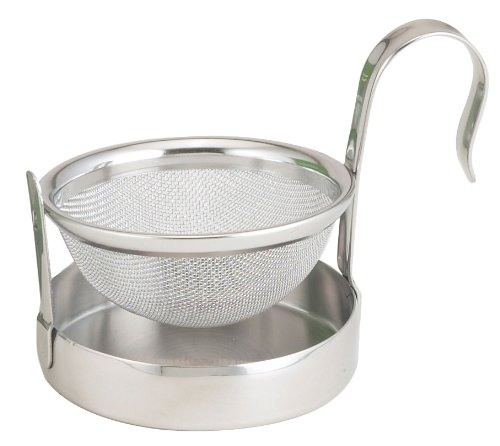 HIC Brands Stainless Steel Tip Tea Strainer