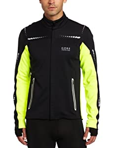 Gore Running Wear Herren Jacke Mythos Soft Shell Neon, neon yellow, S, JWNMYP080007