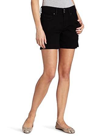 Levi's Women's 515 Short, Black Ink,6