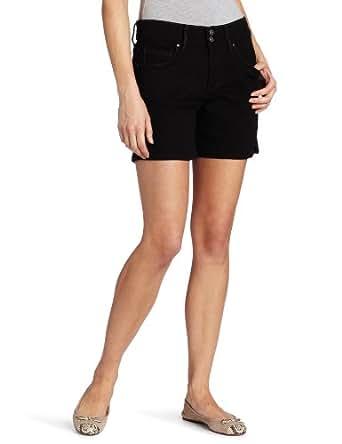Levi's Women's 515 Short, Black Ink,6