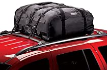 Highland 1039500 Black Rainproof Car Top Carrier and Duffel Bag - Pack of 2