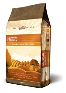 Merrick Whole Earth Farms Senior Dry Dog Food 35 Pound Bag