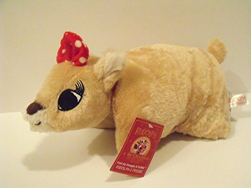 Rudolph the Red Nosed Reindeer Movie Plush Character: Clarice Small Pillow Pet