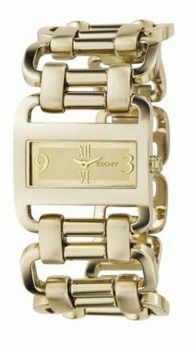DKNY NY4496 - Orologio da polso da donna, cinturino in oro colore oro