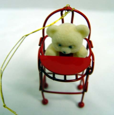Avon Teddy Bear Ornament Collectioni Figurine
