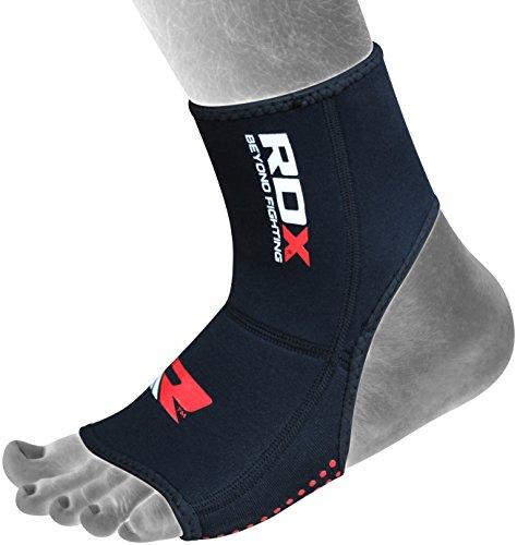 RDX Boxe Supporto Caviglia Sport Fitness MMA Elastica Cavigliera Tutore Fascia Calze