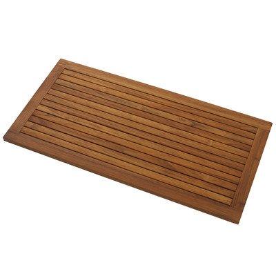 Teak Floor Mat Rectangular Teak Patio Furniture World
