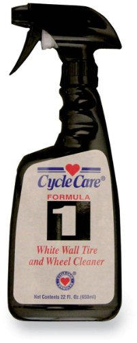 Cycle Care Formulas Formula 1 White Wall Tire and Wheel Cleaner - 22oz. 01022