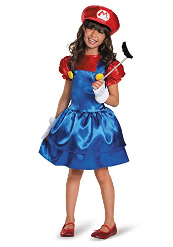 Super Mario Brothers Mario Skirt Costume for Kids