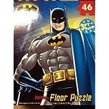 """BATMAN My Size FLOOR Puzzle XL 46 PIECES (3 feet length - 24"""" x 36"""")"""