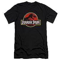 Jurassic Park Classic Logo Slim Fit T-Shirt