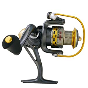 Super Fishing Bass Spinning Reel Spincast Mirror Grey R11 by FreeFisher