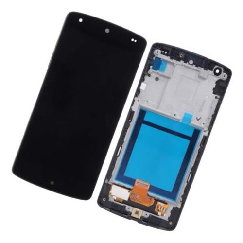 Oem For Google Nexus 5 Lg D820 D821 Lcd Display Touch Digitizer Screen Assembly With Frame Combo Replacement Parts, Free Tools, Epacket Shipping