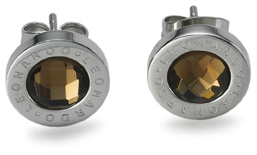Leonardo Jewels Classic Ohrstecker braun Matrix 013257