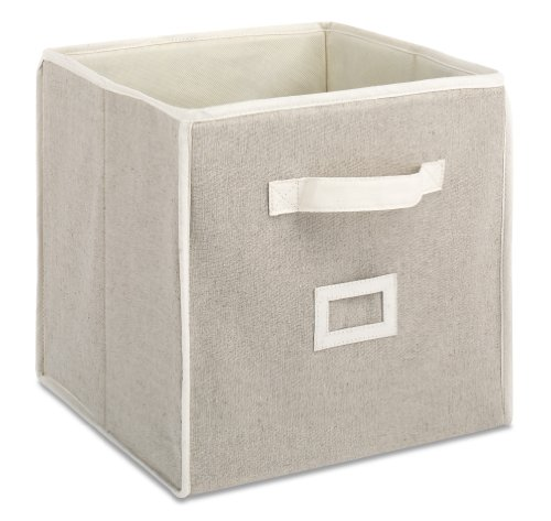 Whitmor-6082-908-12-Collapsible-Cube-Natural-Linen