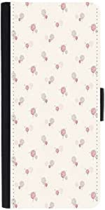Snoogg Splash Flower Pattern Graphic Snap On Hard Back Leather + Pc Flip Cove...