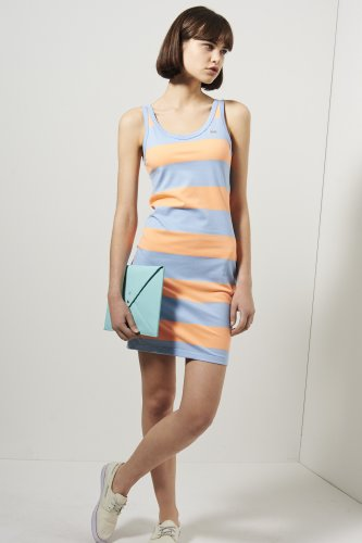 L!ve Sleeveless Bold Stripe Tank Dress