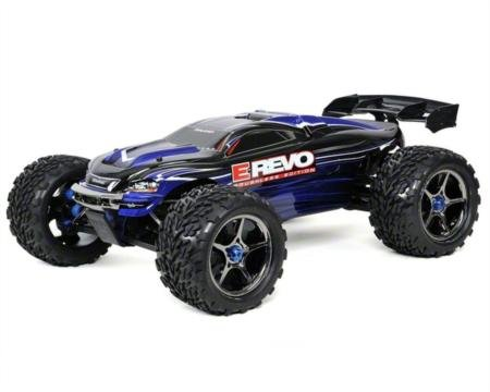 1/10 4WD E-Revo Brushless Monster truck w/ Lipo batteries and Charger
