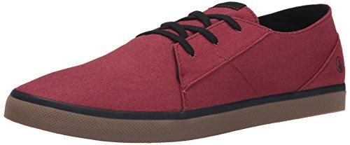 VolcomLo Fi Shoe - Scarpe da Skateboard Uomo , Rosso (Rot (Burgundy BUR)), 43