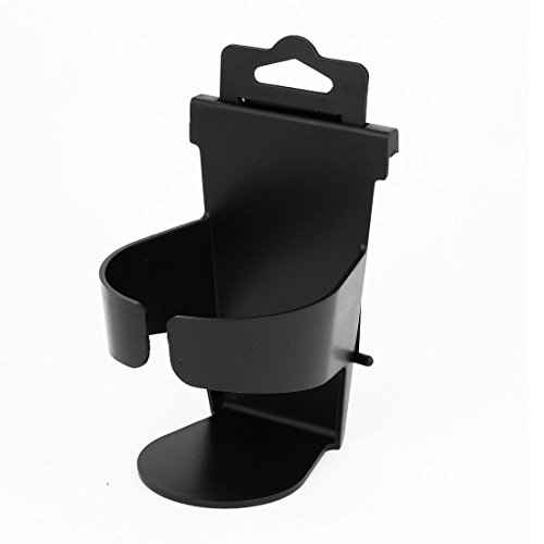 "5.5"" Height Beverage Bottle Can Drink Cup Holder Stand Black For Car"