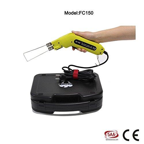 TCO hot knife foam cutter kit foam sculpture 150 Watts & 120 Volts (Yellow)