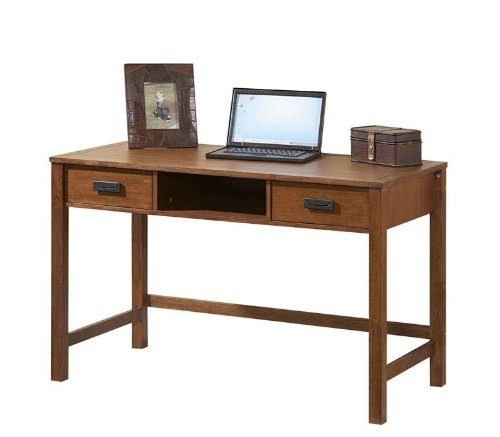 Broyhill Mission Nuevo Desk in Mahogany - Inspirations 305-400